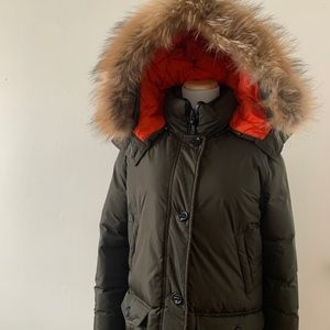 Mackage Down Parka w/ Fox Fur Trim